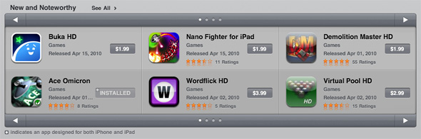 "iPad survival shooter Ace Omicron ranked ""New & Noteworthy"""