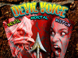 Devil Voice real-time voice changing iPhone app