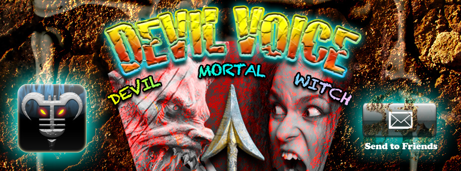 Devil Voice - Real-time voice changing for iPhone, iPod touch and iPad