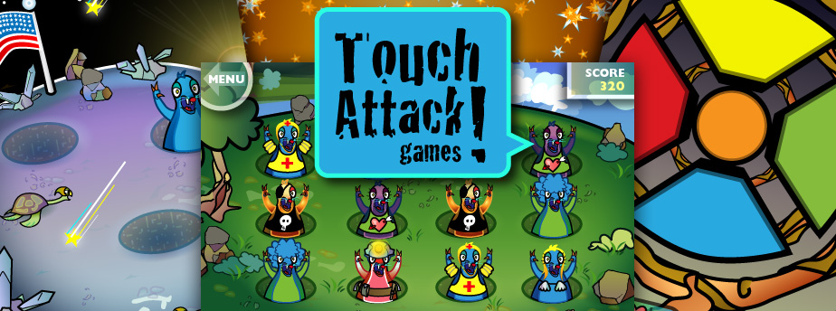 Touch Attack Games - Fun tabletop games for iPhone, iPod touch and iPad