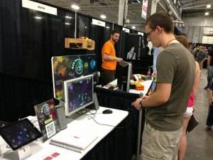 Playing Ace Extreme at the TooManyGames Expo